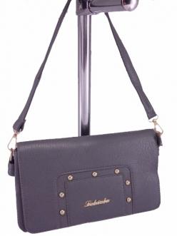 Женская сумка, цвет 1414 Серый Клатч купить недорого
