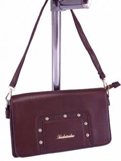 Женская сумка, цвет 1414 Коричневый Клатч купить недорого