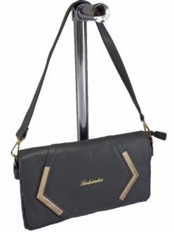 Женская сумка, цвет 1416 Серый Клатч купить недорого
