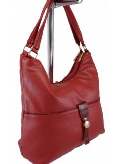 Женская сумка, цвет 168 Бордовая купить недорого