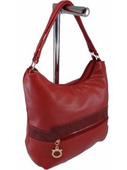 Жіноча сумка, колір 185 Бордова купити недорого