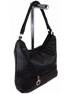 Женская сумка, цвет 185 Черная купить недорого