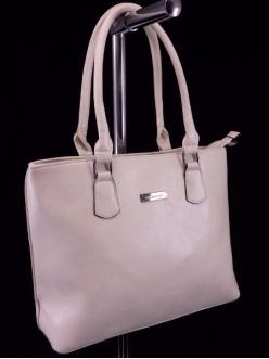 Женская сумка, цвет 2102 Темно Бежевая купить недорого