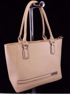 Женская сумка, цвет 2110 Темно Бежевая купить недорого