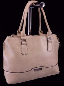 Женская сумка, цвет 2129 Темно Бежевая купить недорого