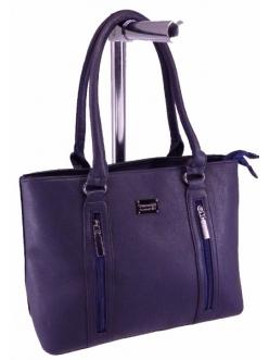 Женская сумка, цвет 2143 Темно Синяя купить недорого