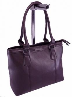 Женская сумка, цвет 4111 Коричневая купить недорого