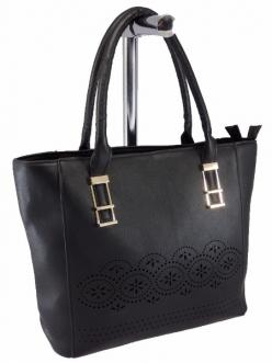 Женская сумка, цвет 644 Черная купить недорого