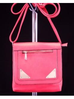 Женская сумка, цвет 6518 Красный Клатч купить недорого