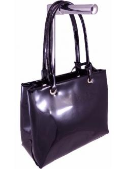 Женская сумка, цвет 70829 Черный ЛАК купить недорого