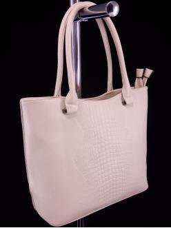 Женская сумка, цвет 8036 Бежевый купить недорого