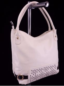 Женская сумка, цвет 89176 Молочный купить недорого