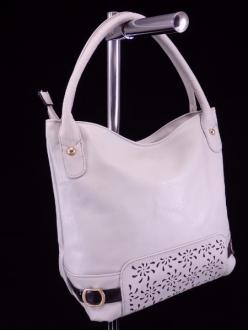 Женская сумка, цвет 89176 Светло Серый купить недорого