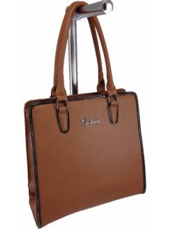 Женская сумка, цвет 89393 Терракотовая купить недорого