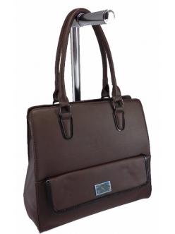 Женская сумка, цвет 89394 Коричневый купить недорого