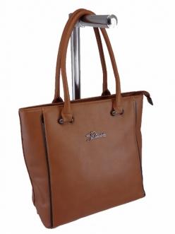 Женская сумка, цвет 89398 Коричневая купить недорого