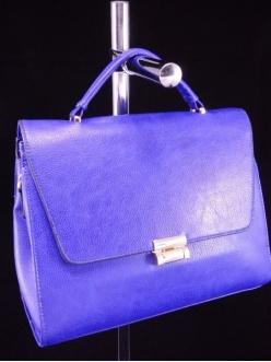Женская сумка, цвет 89481 Синяя купить недорого