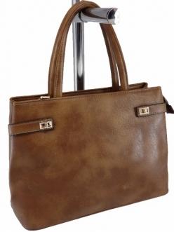 Женская сумка, цвет 89634 Светло Коричневая купить недорого