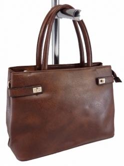 Женская сумка, цвет 89634 Коричневая купить недорого