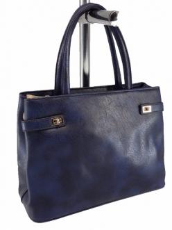 Женская сумка, цвет 89634 Синяя купить недорого
