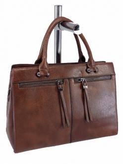 Женская сумка, цвет 89685 Коричневая купить недорого