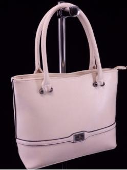 Женская сумка, цвет 89731 Бежевая купить недорого
