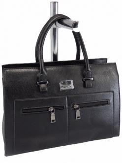 Жіноча сумка, колір 89765 Чорна купити недорого