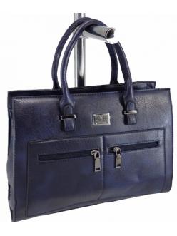 Женская сумка, цвет 89765 Темно синяя купить недорого