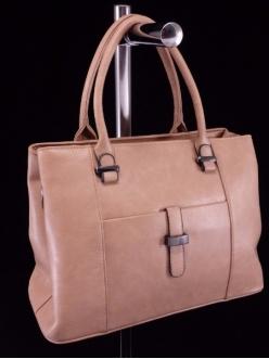 Женская сумка, цвет 89831 Темно Бежевая купить недорого