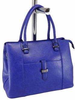 Женская сумка, цвет 89831 Синяя купить недорого