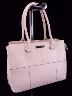 Жіноча сумка, колір 89833 Молочна купити недорого
