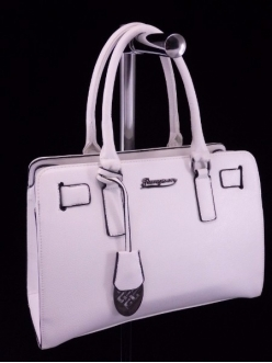 Жіноча сумка, колір 89844 Біла купити недорого