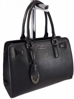 Женская сумка, цвет 89844 Черная купить недорого