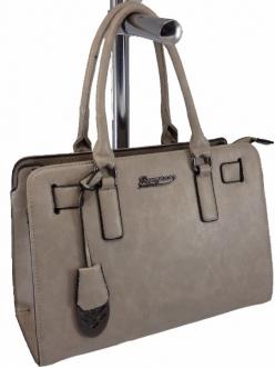 Женская сумка, цвет 89844 Серая купить недорого