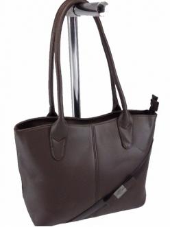 Женская сумка, цвет 9014 Коричневая купить недорого