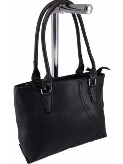 Женская сумка, цвет 9233 Черная купить недорого