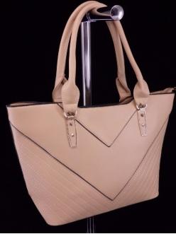 Женская сумка, цвет A-5 Темно Бежевая купить недорого