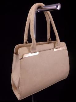Женская сумка, цвет AL-435 Темно Бежевый купить недорого