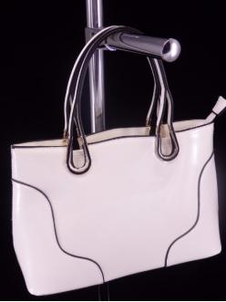 Женская сумка, цвет AL-453 Белый ЛАК купить недорого