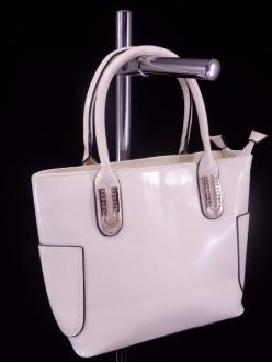 Женская сумка, цвет AL-456 Белый ЛАК купить недорого