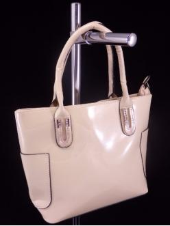 Женская сумка, цвет AL-456 Бежевый ЛАК купить недорого