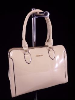Женская сумка, цвет AL-461 Бежевый ЛАК купить недорого