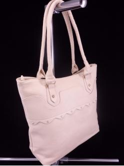 Женская сумка, цвет B-12 Бежевый купить недорого
