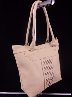 Женская сумка, цвет B-28 Темно Бежевый купить недорого