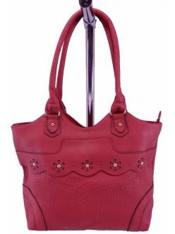 Женская сумка, цвет B-63 Бордо купить недорого