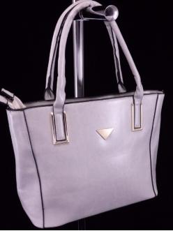 Женская сумка, цвет L-623 Светло Серая купить недорого
