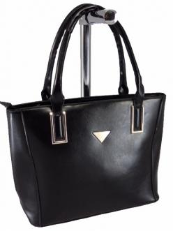 Женская сумка, цвет L-623 Черная купить недорого