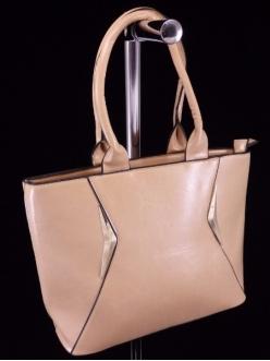 Женская сумка, цвет L-626 Бежевая купить недорого