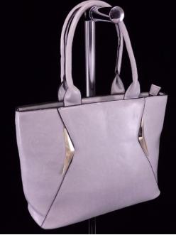 Женская сумка, цвет L-626 Светло Серая купить недорого