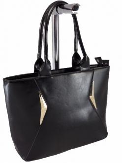 Женская сумка, цвет L-626 Черная купить недорого